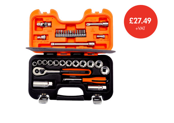 Bahco socket set