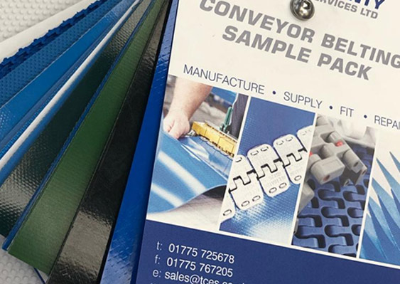 Conveyor sample pack